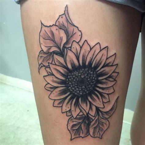 sonnenblumen tattoo ideen bilder und bedeutung
