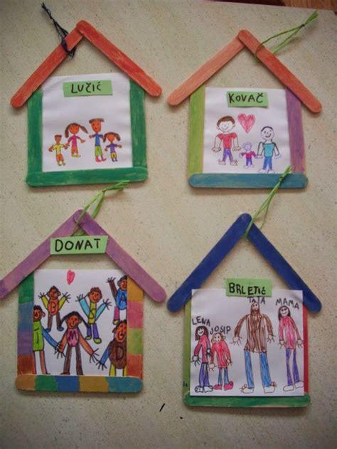 christmas love family crafts manualidad sobre la familia cada ni 241 o dibuja a su familia y la pondr 225 n en un marco colgante