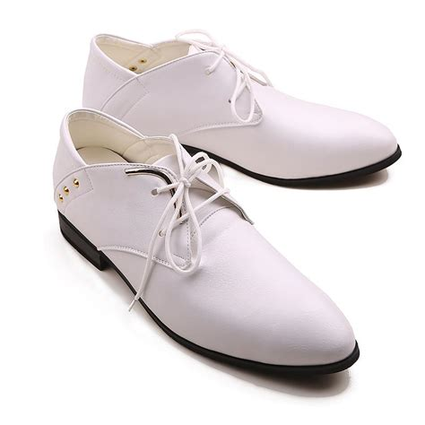 comfortable prom shoes white comfortable leather prom shoes groom wedding shoes