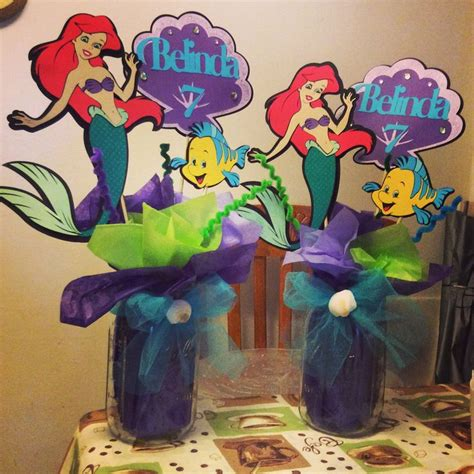 17 best ideas about mermaid centerpieces on