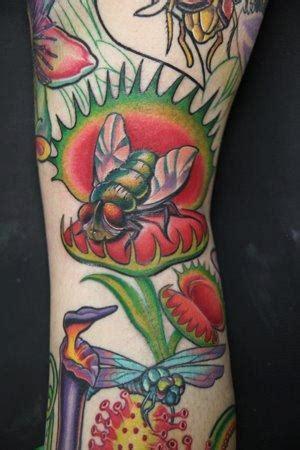 venus flytrap tattoo venus flytrap flower