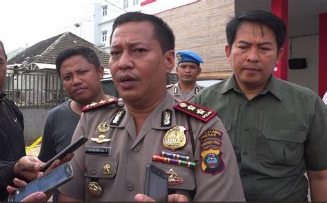 Tv Mobil Di Medan olah tkp polisi temukan dua proyektil terkait penembakan