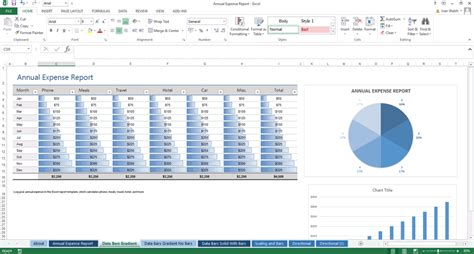 yearly expense report template excel helloalive