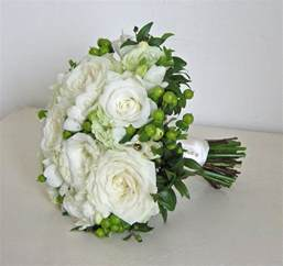 Bouquet by Wedding Flowers Blog Holly S Classic Green And White