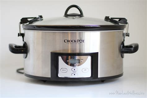 my favorite crock pot 6 quart programmable slow cooker