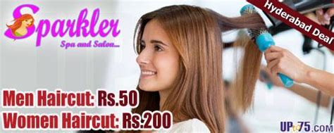 haircut coupons in hyderabad sparkler spa salon big bazaar ameerpet hyderabad beauty
