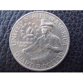 moneda de estados unidos 25 centavos 1776 1976 monedas
