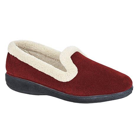slippers with memory foam sleepers womens memory foam slippers ebay