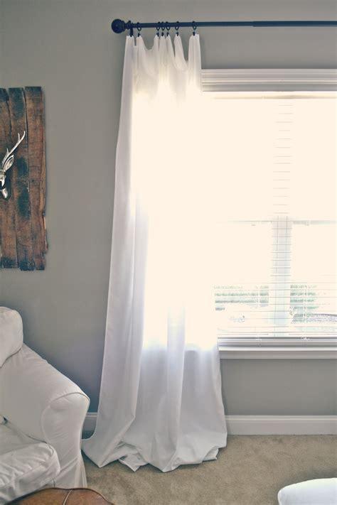 cheap floor length curtains diy floor length curtains