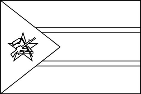 printable coloring pages morocco flag coloring page blank