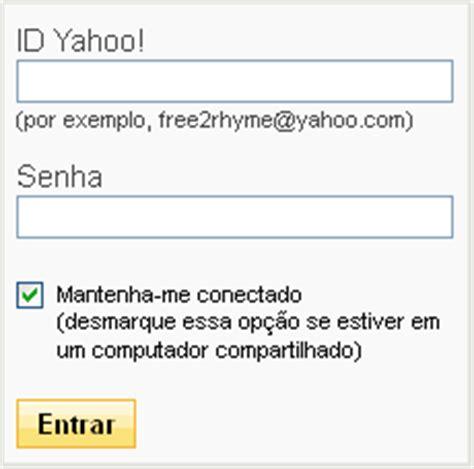email yahoo entrar brasil entrar no yahoo mail brasil login como criar