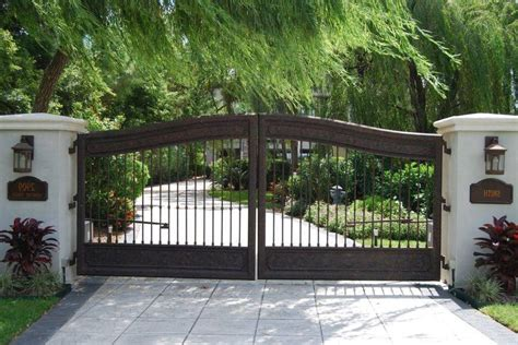 house fence and gate designs farm house main gate designs landscape contemporary with wrought metal garden entrance