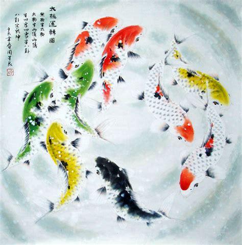 new year koi fish koi fish painting 0 2378011 69cm x 69cm 27 x 27