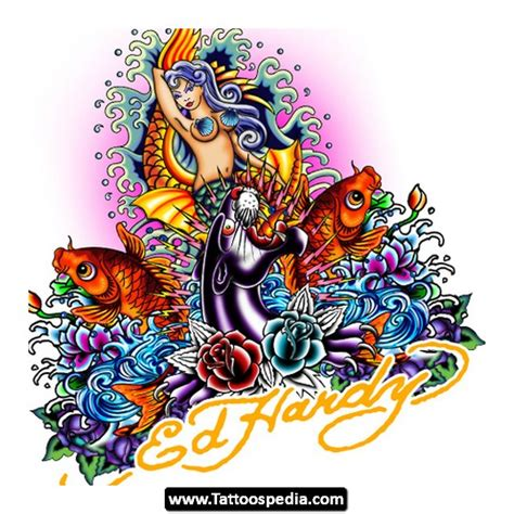 ed hardy tattoos designs wallpaper fever