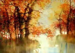 art spotting wondrous watercolor landscapes by z l feng