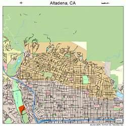 altadena california map altadena california map 0601290