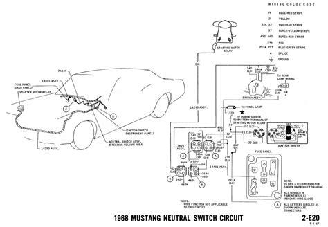 mustang starter wiring diagram wiring diagram