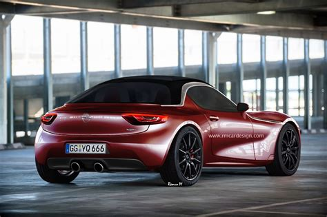 opel productions production opel gt rendered gm authority