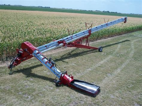 swing away 1612 bin fill conveyor w swingaway ksi conveyors