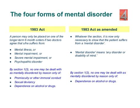 section 56 mental health act mental disorder and the criminal law england and wales