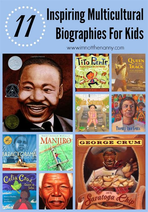 biography books for students inspiring multicultural biographies for kids book list at