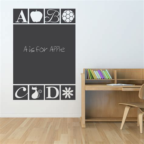 chalk wall stickers blackboard wall decal popular items for chalkboard decal