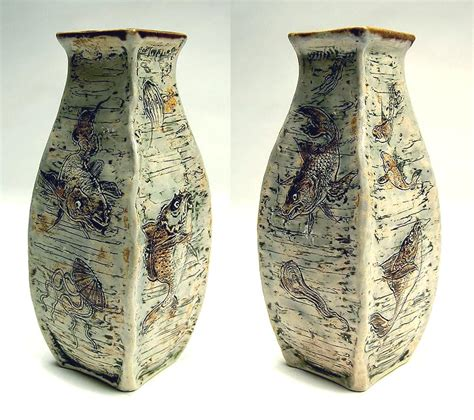 Martin Brothers Vase by Chasenantiques European Ceramics Martin Brothers Vase