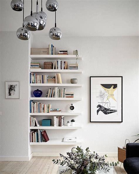 lack ikea libreria resultado de imagen de estantes empotrados en la pared
