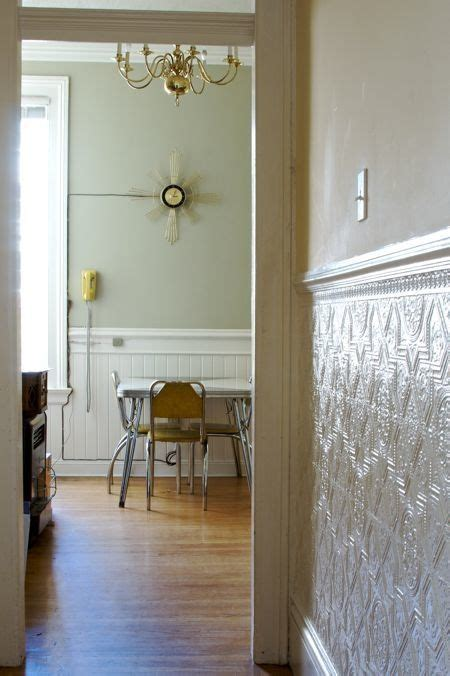 wainscot ceiling panels 77 best images about tin ceilings on kitchens
