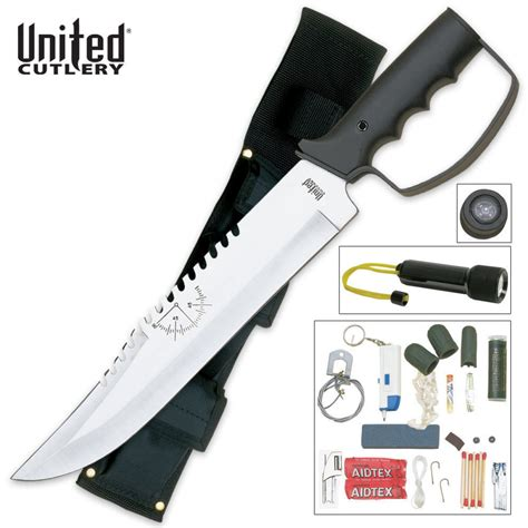 survival knives with kit bushmaster survival knife and kit