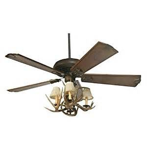 coues deer antler ceiling fan with 4 lights - Deer Ceiling Fan