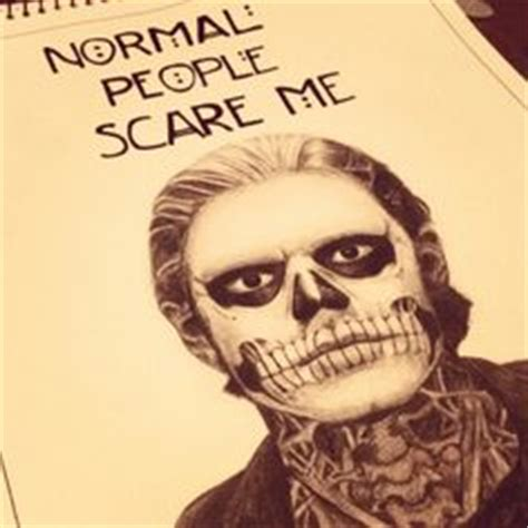 evan peters tattoo a pencil drawing i did of twisty the clown from american