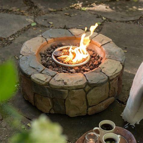 backyard propane pit portable propane outdoor pit pit design ideas