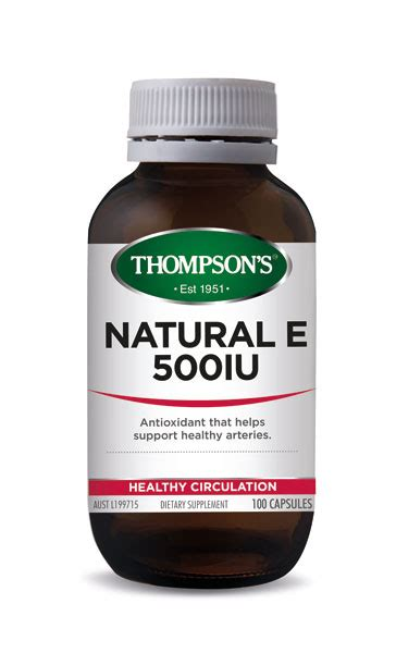 Healthy Care Vitamin E 500iu buy thompsons vitamin e 500iu capsules 100 at