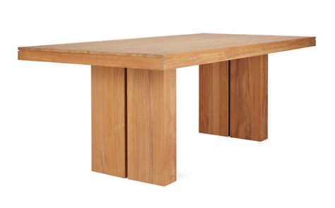 Botte Teakwood Kacamata Kayu Original kayu teak dining table design within reach