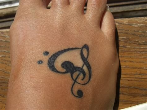 heart with music notes tattoo designs photofunmasti notes tattoos