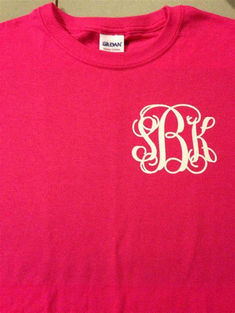 design a monogram shirt monogrammed t shirt womens juniors girls from