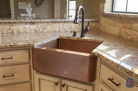 Farm Style Sink In The Corner Haus Pinterest Stone Corner Sink In Kitchen