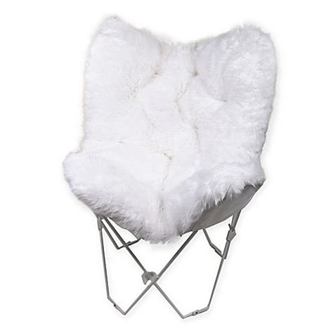 pink butterfly chair bed bath and beyond faux fur butterfly chair bed bath beyond