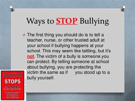 stop bully presentation