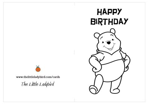 happy birthday winnie the pooh 522843 171 coloring pages for