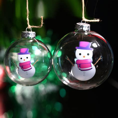 popular christmas ornaments glass balls buy cheap