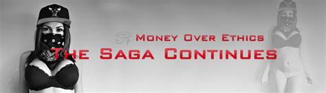 The Saga Continues by The Saga Continues Money Ethics