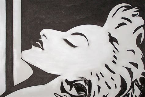 black and white paintings simple modern paintings black and white www imgkid