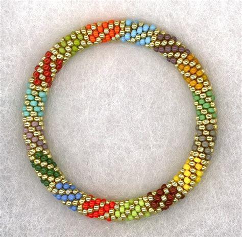 crochet bead bracelet madrigal bead crochet bracelet crocheting