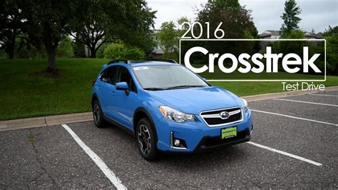 subaru crosstrek 2016 road 2016 subaru crosstrek driving review drive