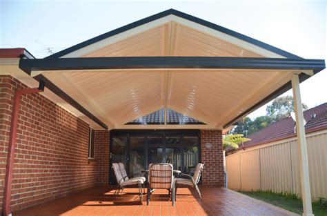 how to build a gable roof pergola home sol home improvements