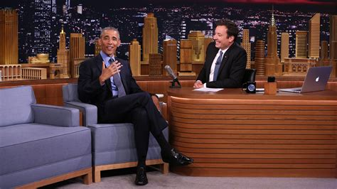 shown in watch president obama and fallon slow jam the news on the