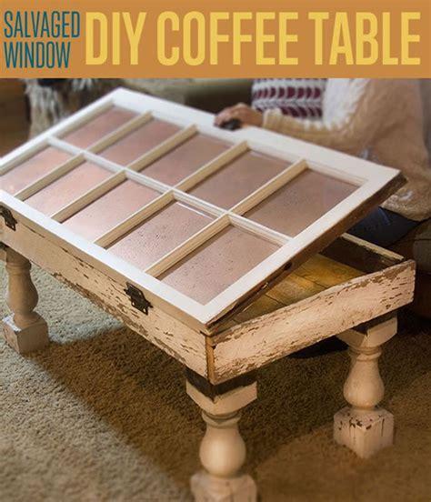 salvaged window diy coffee table unique coffee tables - Window Coffee Table Diy