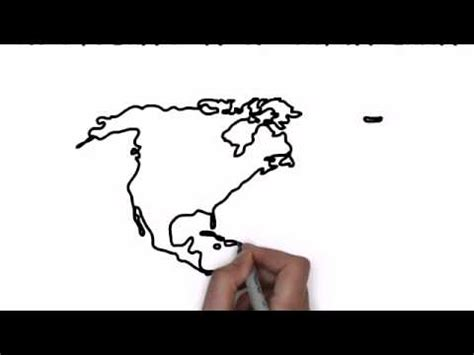 how to draw the usa map how to draw map of america